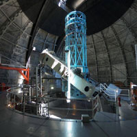 Object Movie: Hooker 100-inch telescope, Mount Wilson Observatory